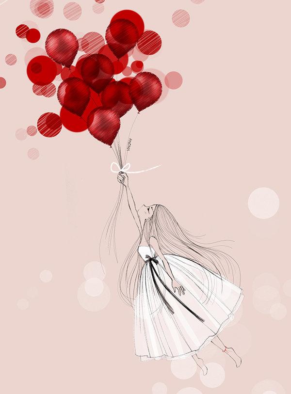 Перец открытка, картинки с шариками воздушными и цветами рисованные