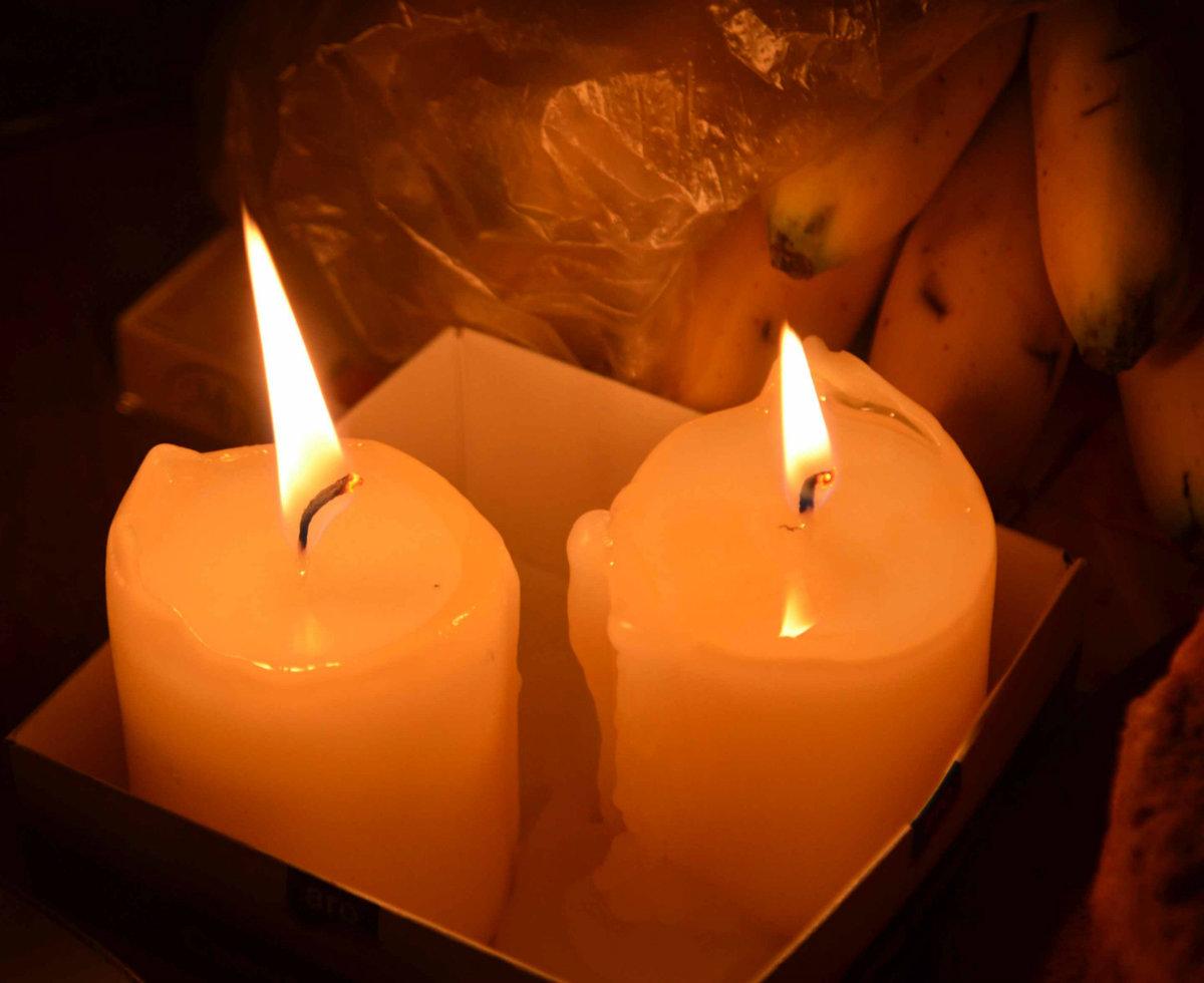Картинки свеча и двое