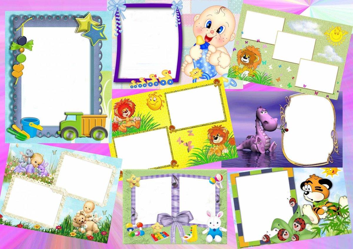 Как сделать детскую открытку онлайн из фотографий