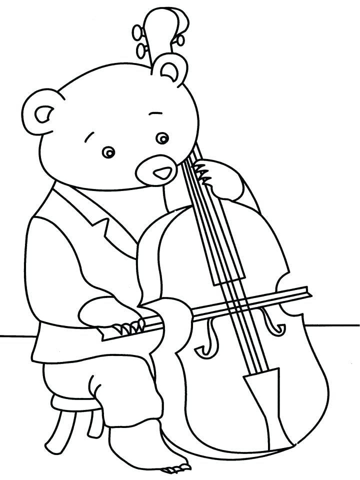 Рисунок с музыкальным инструментом нарисовать ребенку