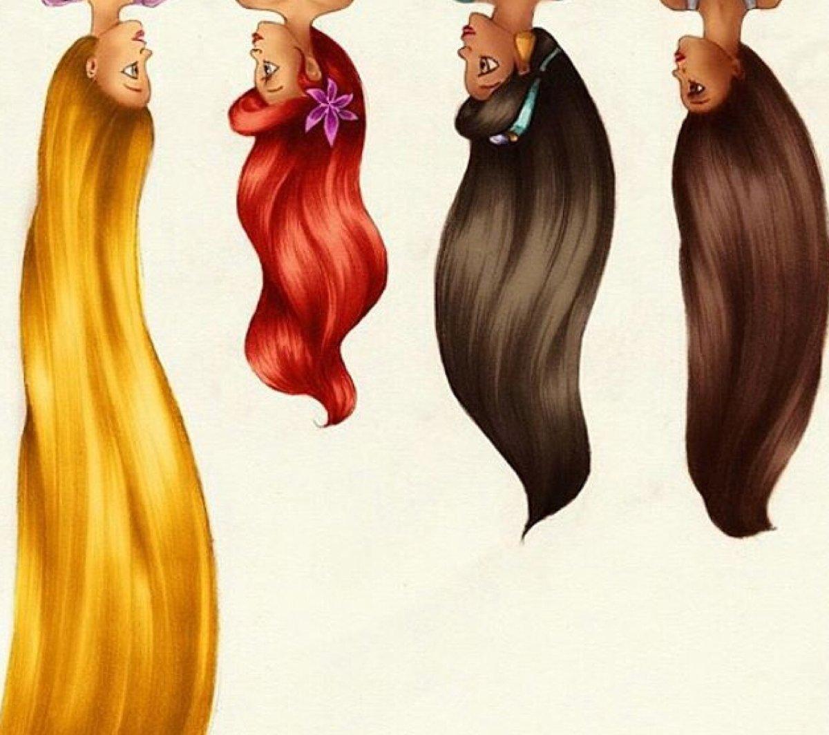 волосы смешной рисунок панорамные
