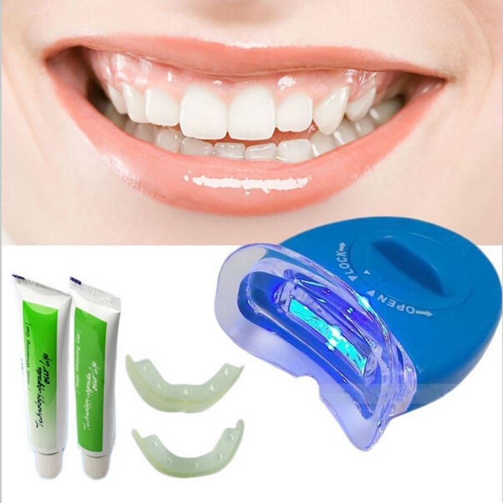 WebMD looks at the many available teeth whitening systems along with products like toothpastes and gels and compares home kits to professional office
