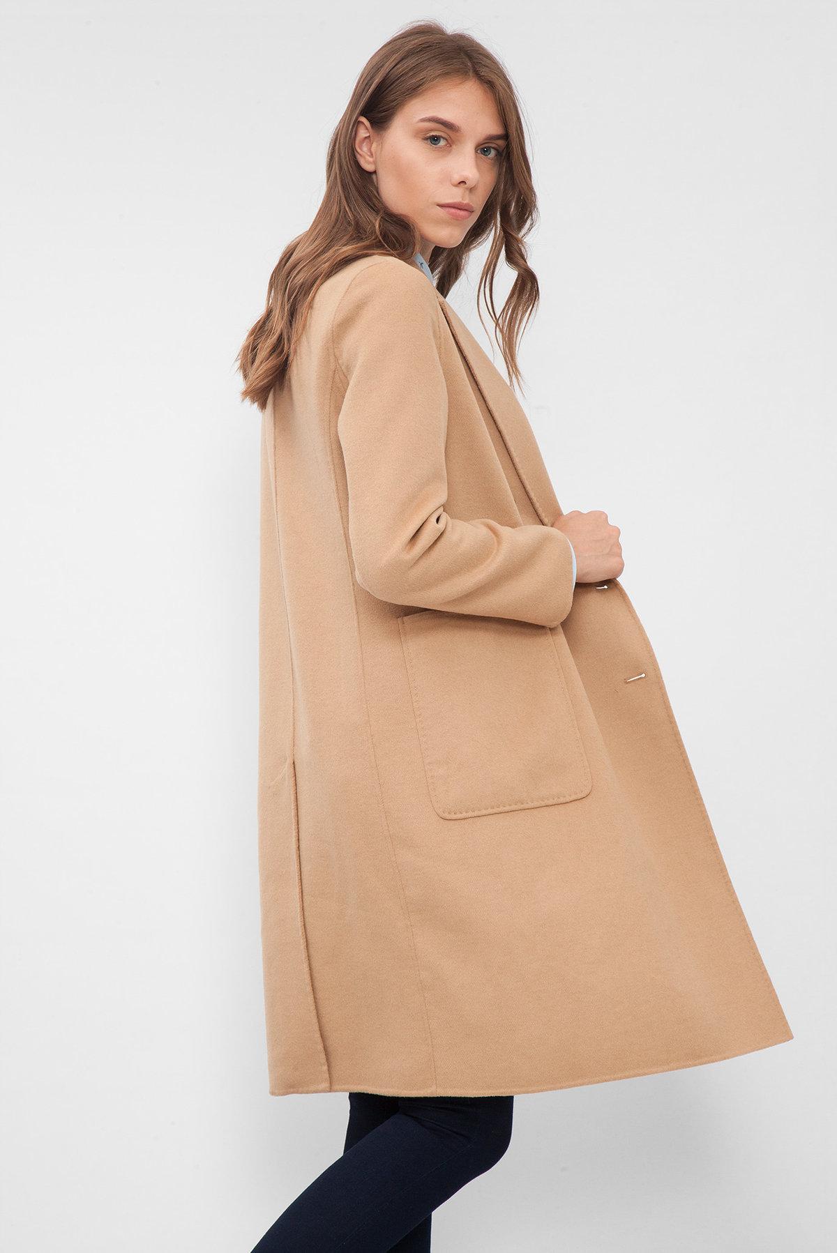 fcf97760ab3 Купить Женское бежевое пальто Tommy Hilfiger Tommy Hilfiger