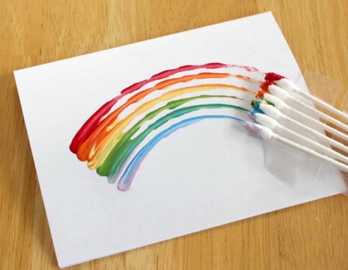 краски в картинках поделки предназначен для