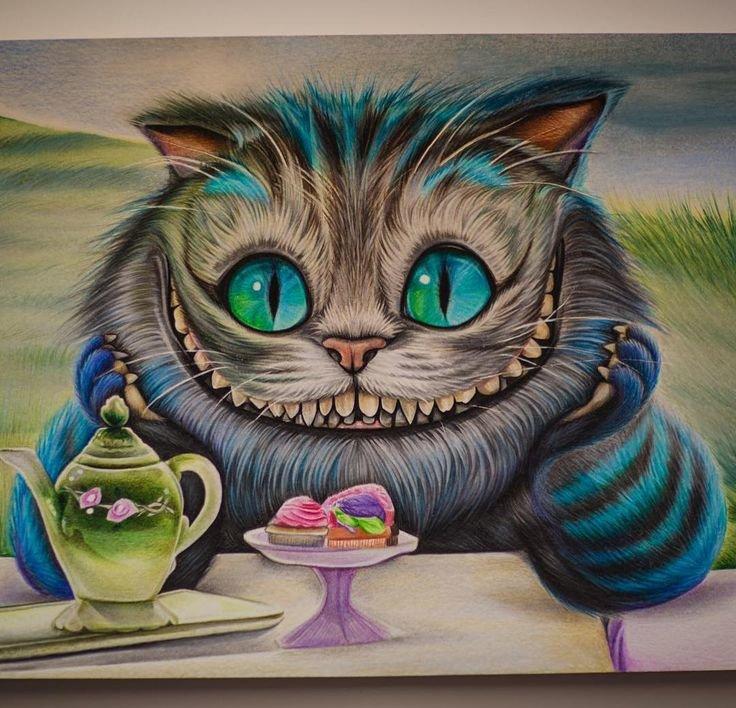 предков чеширский кот из алисы в стране чудес картинки карандашом значит медь микс