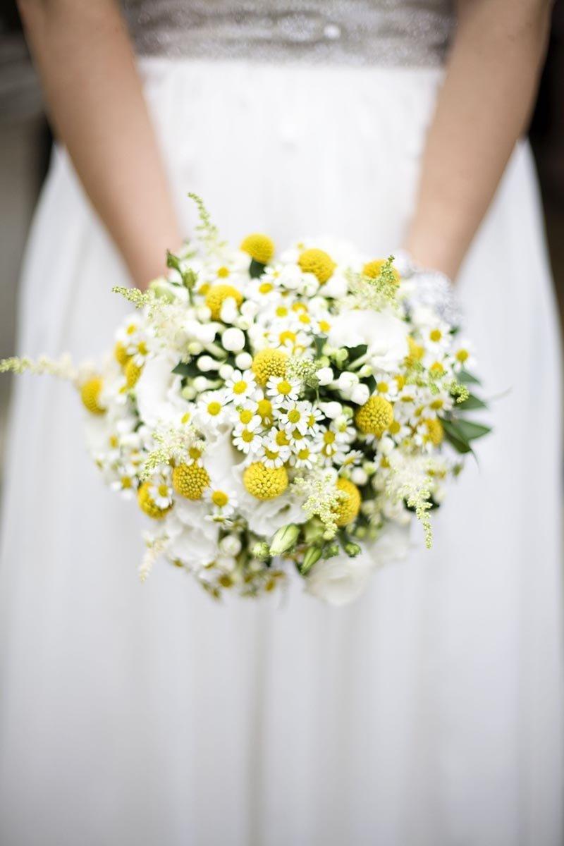 Оптовая, любовный букет из ромашек свадебный