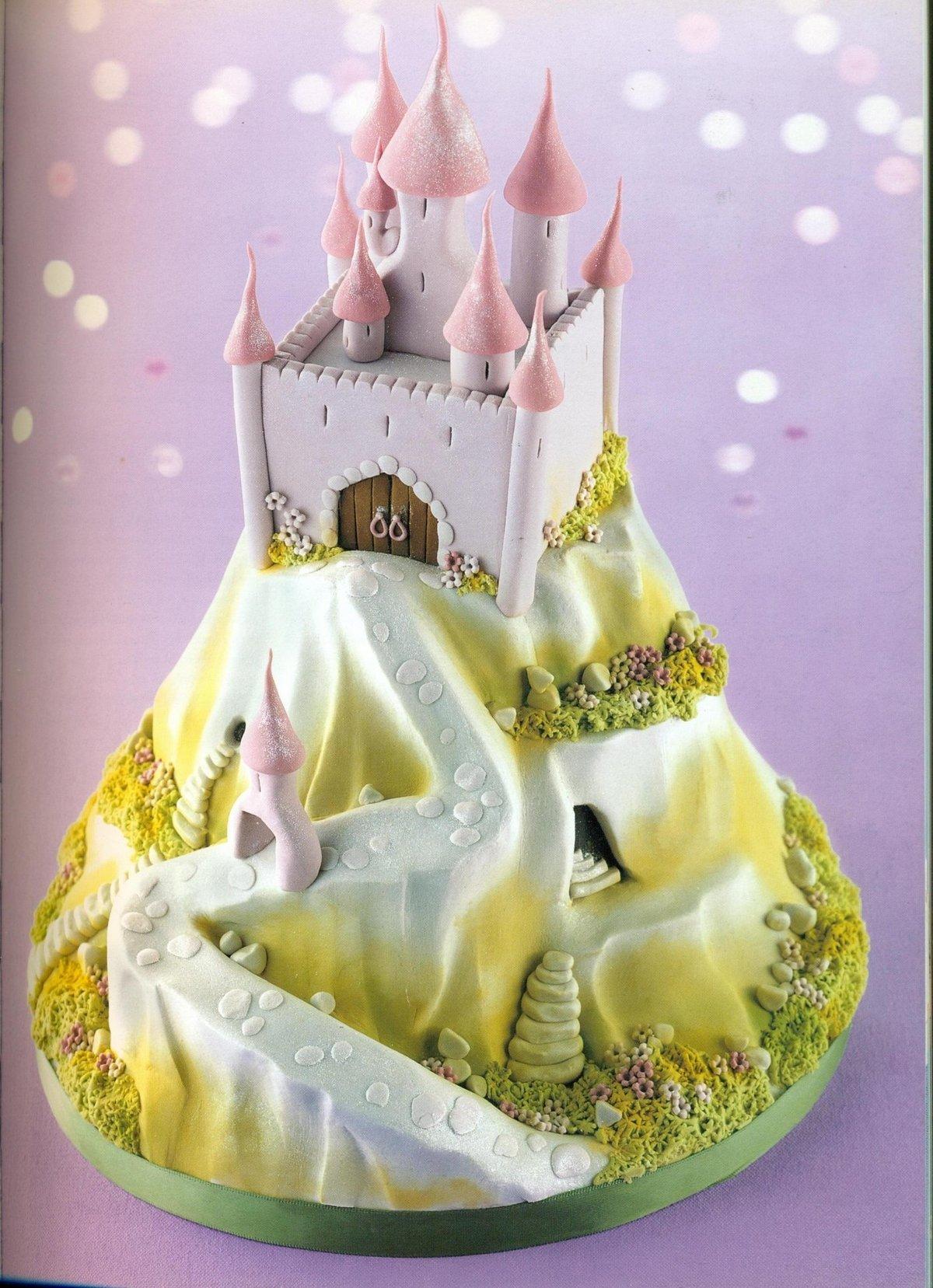 торт замок фото сомнительной