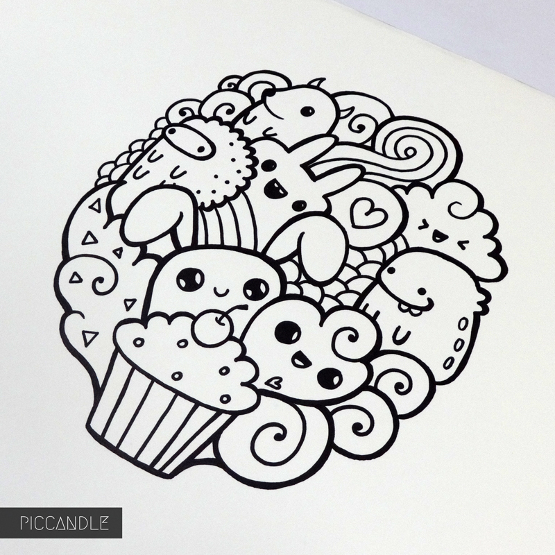 Easy Doodles To Draw Best 25 Easy Doodle Art Ideas On Pinter Card