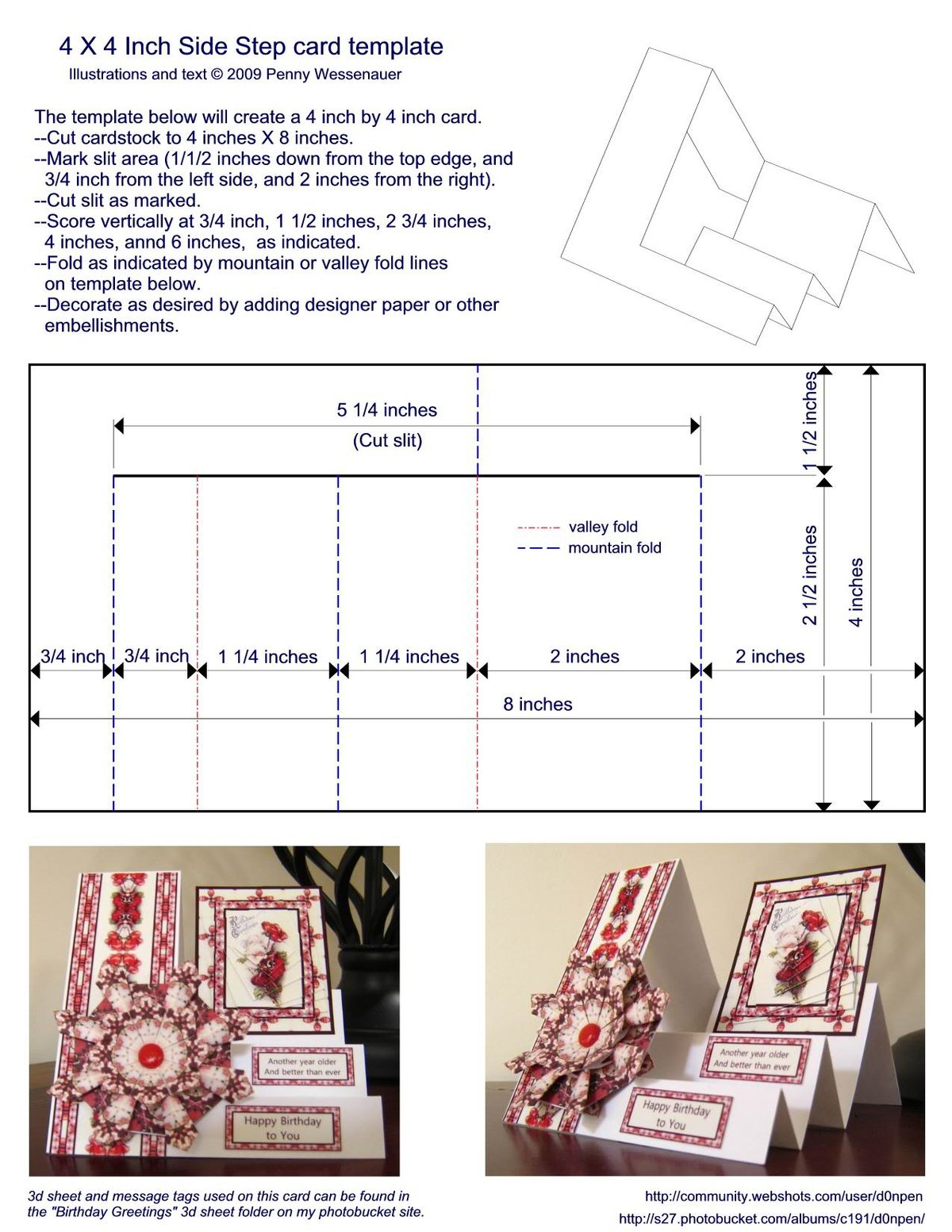 Новым, открытка сложной формы схемы