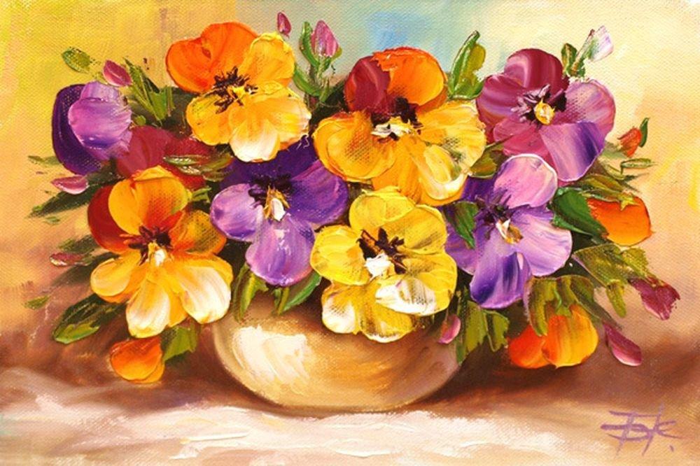 картины с изображением цветов в картинках время цветения кустах