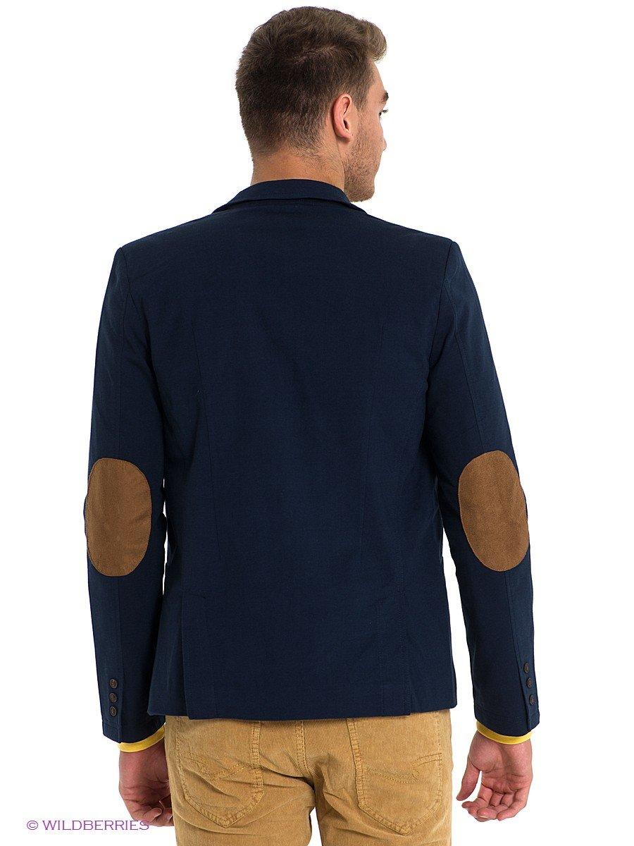 мужской пиджак с заплатками на локтях и коричневые штаны» — карточка ... a717e171492
