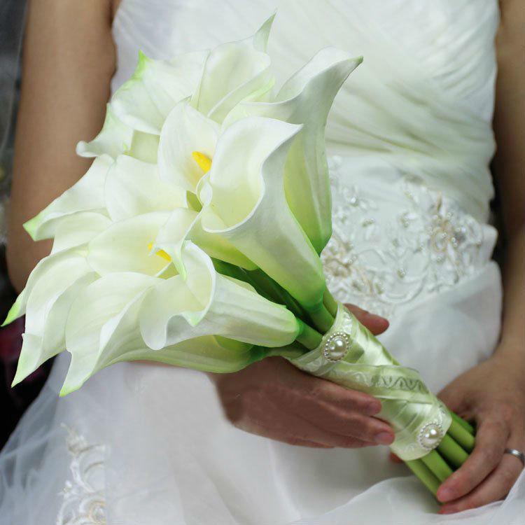Букет невесты лилиями, магазин