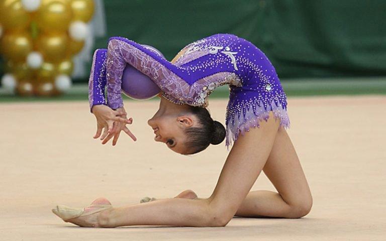 юнные гемнастки имадели украины