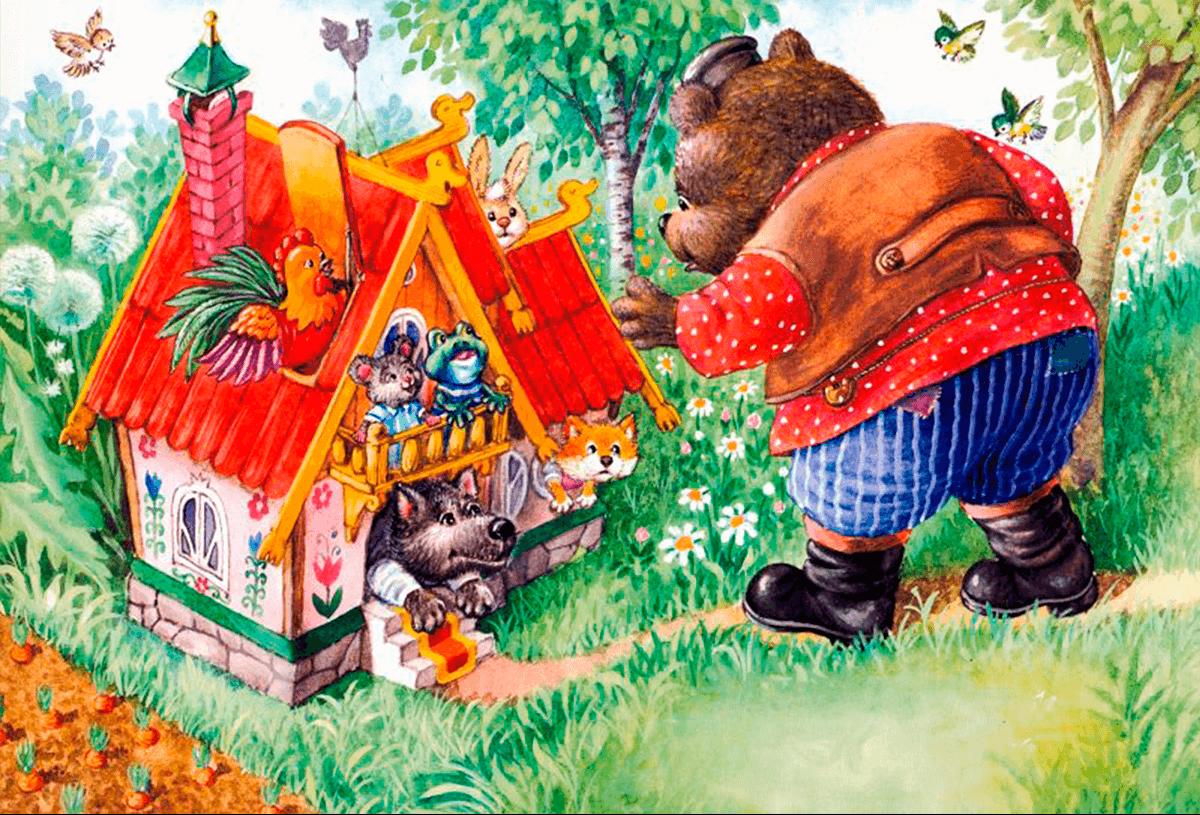 Картинки к сказке теремок для дошкольников