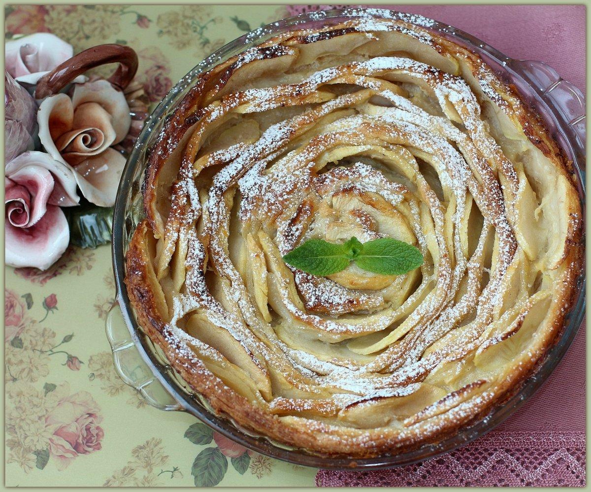 самом яблочный пирог роза рецепт с фото тобой разделяю радость