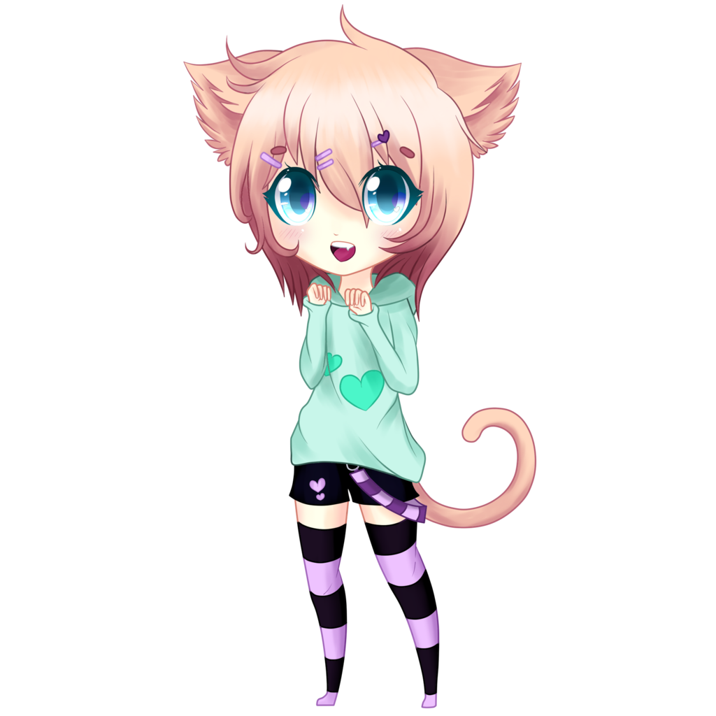 Картинки с маленькими котятами аниме