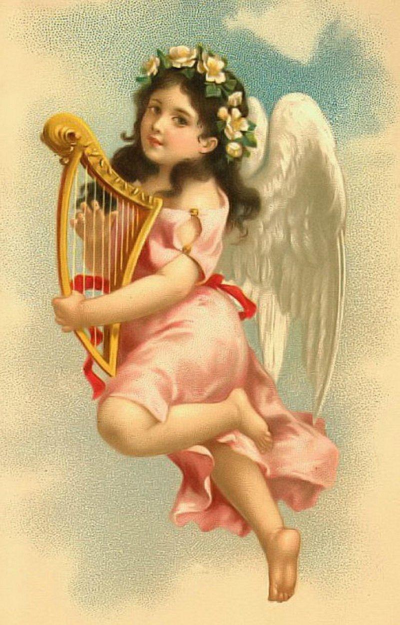 Мамочка, картинки для декупажа дети ангелы