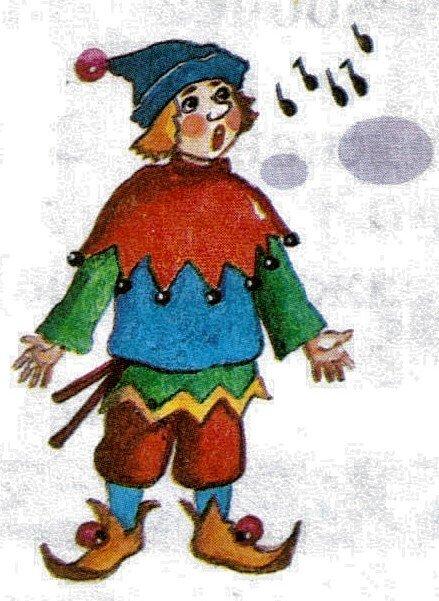 петрушка картинка персонаж такими