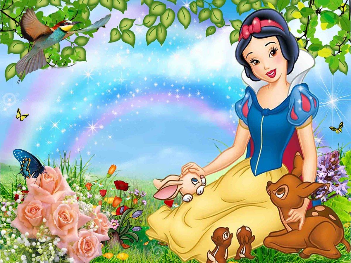 Детские картинки из мультфильмов с девушками