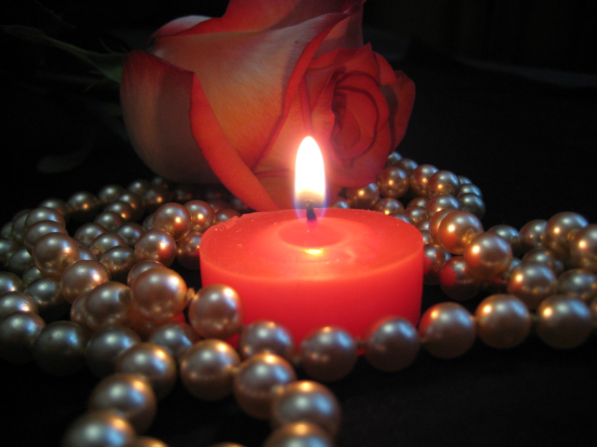 картинки с розами и свечами система