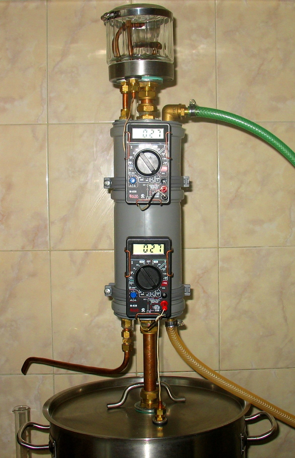 Самодельные самогонные аппараты и ректификационные мини пивоварня inpinto standart