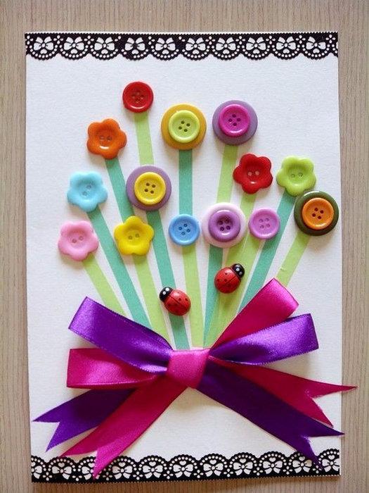 Как сделать ребенку праздничную открытку, необычной формы шаблоны