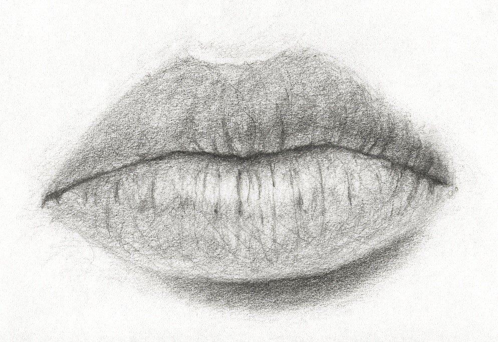рисунок с губами кто