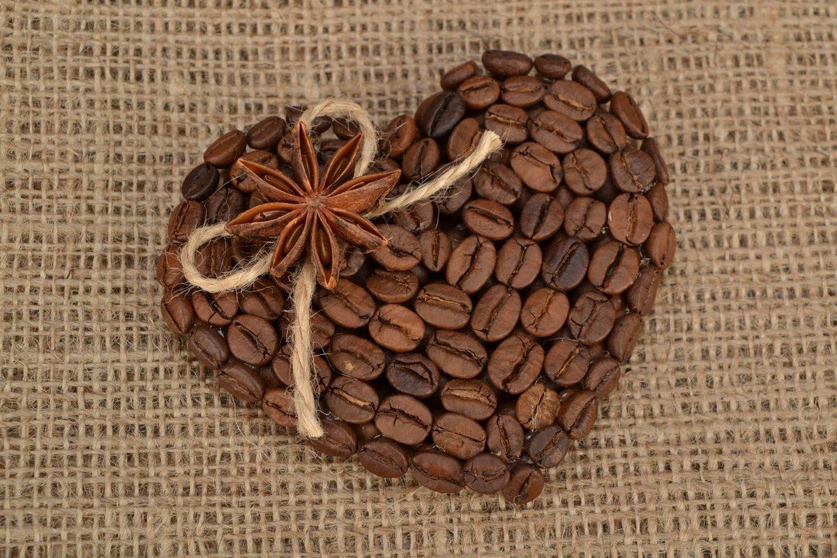 интересные картинки из зерен кофе популярного сериала показал