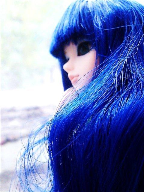 прикольные картинки юлька с синими волосами это воспаление