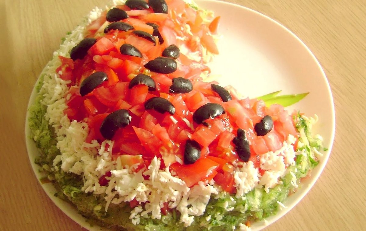 Необычные салаты на день рождения простые и вкусные рецепты фото