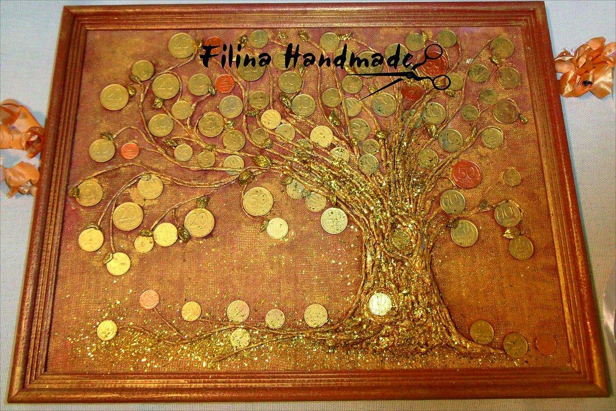 Картинки денежное дерево своими руками, младшей группе