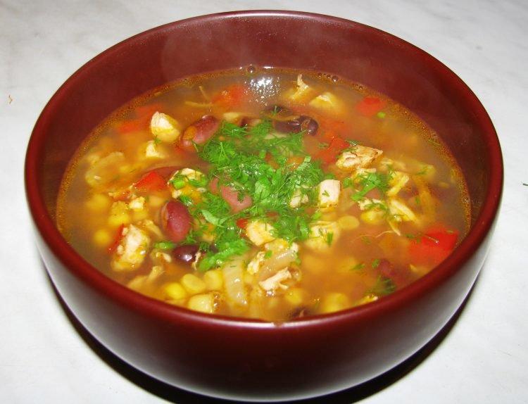 Супы на курином бульоне рецепты с фото простые и вкусные на каждый день