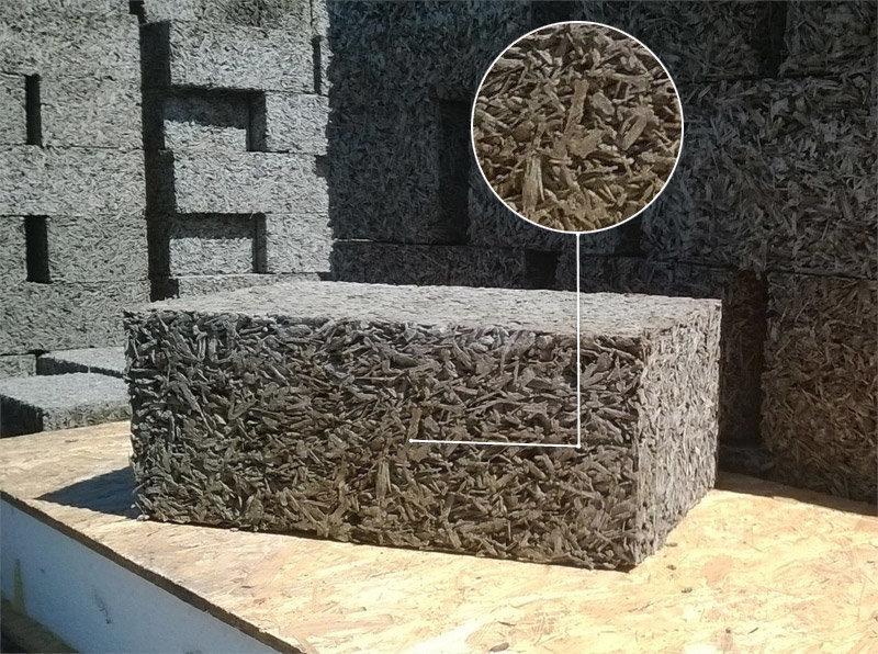 арболит стеновые блоки