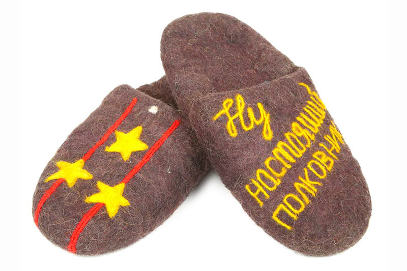 подарок поздравление про тапочки текстильных материалов
