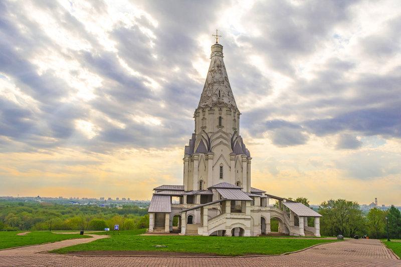 Храм в Коломенском