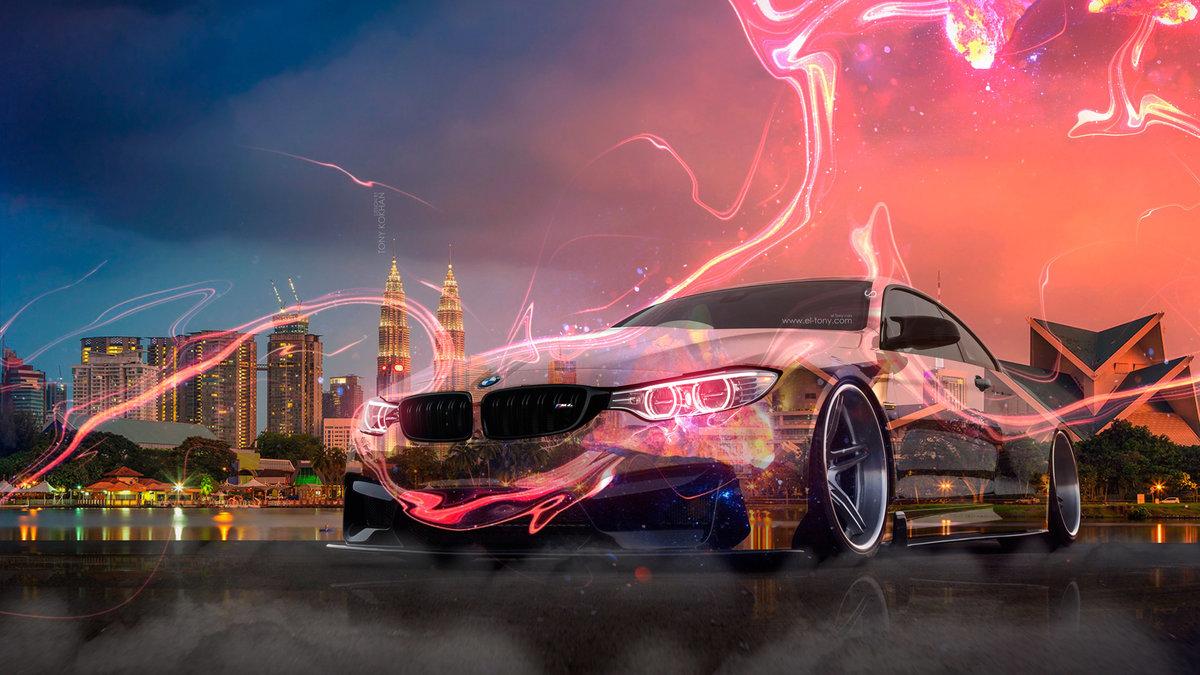 BMW M4 Tuning Crystal City Kuala Lumpur Night
