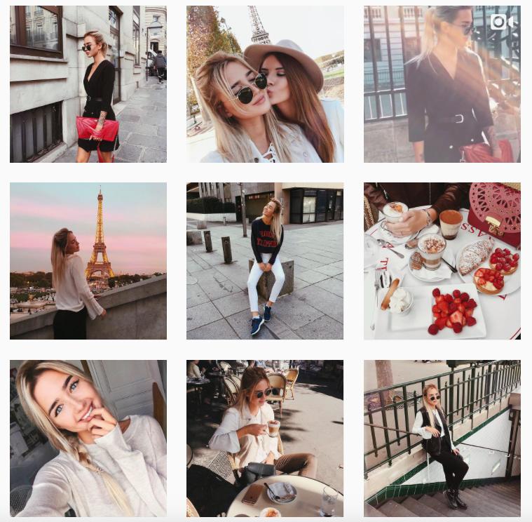 День рождения, как сделать фото в виде картинки в инстаграм