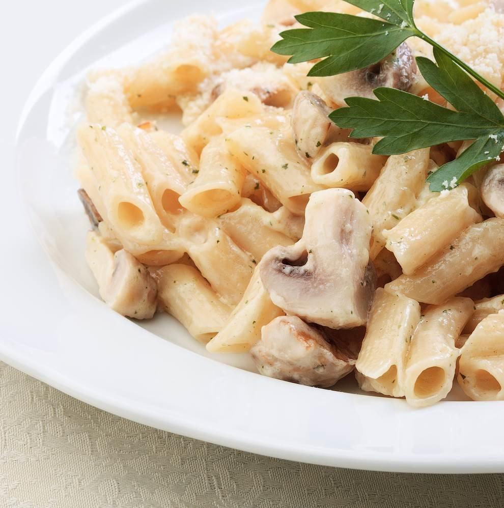 соус для макарон с шампиньонами