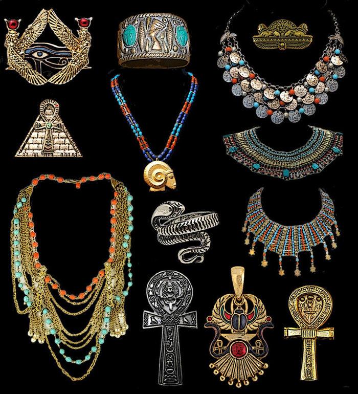 украшения древних египтян картинки красиво полирует член