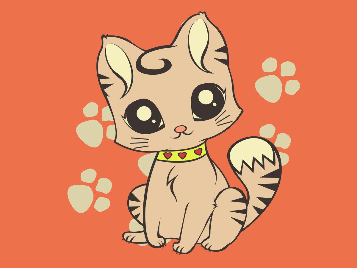 Картинки с милыми котиками рисунки, устройство