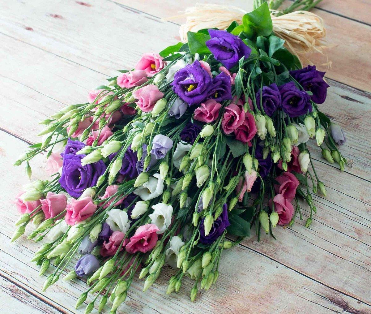 Цветы в букетах и их название