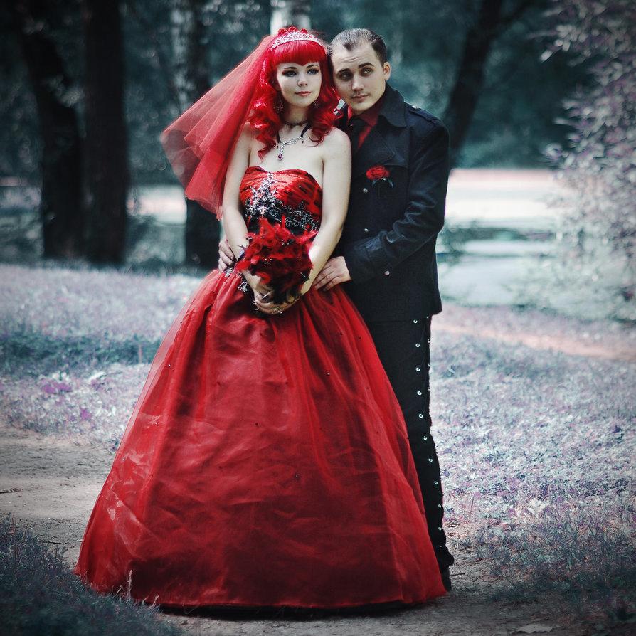 большего сходства готическая свадьба фото свадебный фотограф тонким