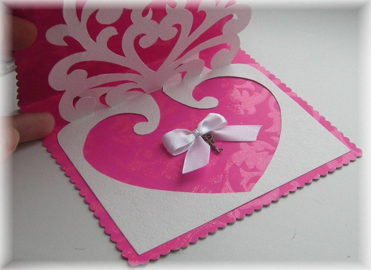 Как сделать открытку для мамы и папы на день свадьбы