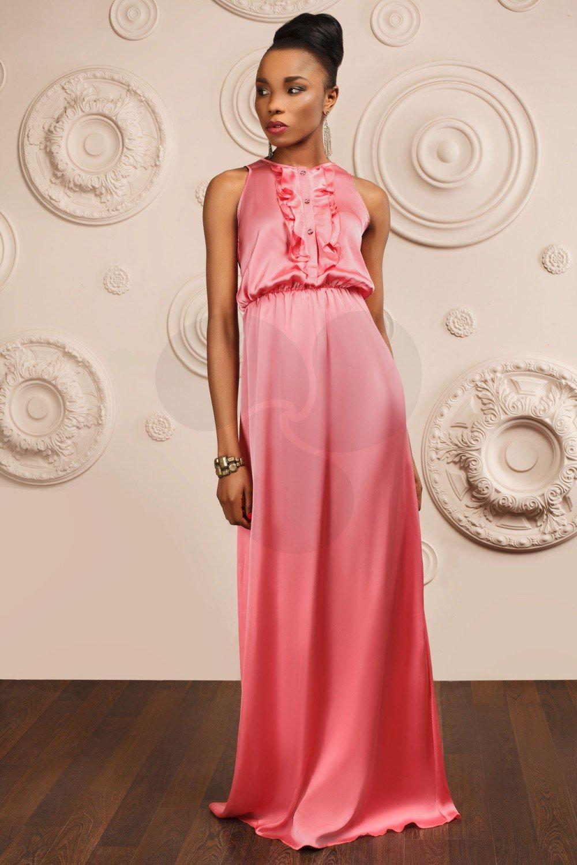 платья вечерние с рюшками фото