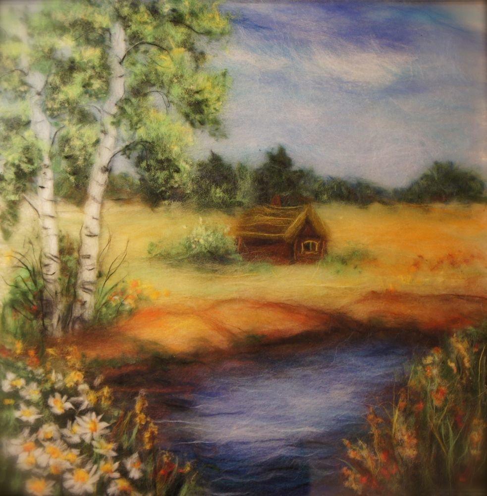 Картинки из шерсти природа