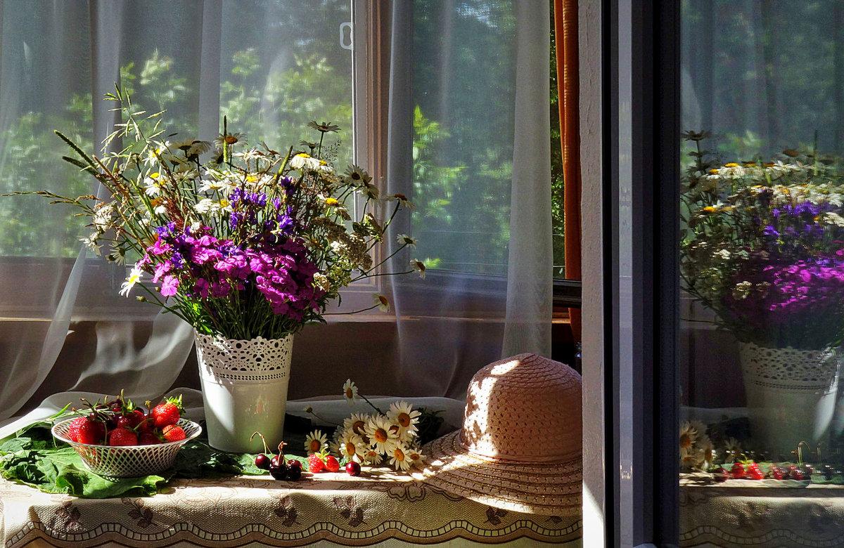 красивые картинки окно с цветами продаем проявляем