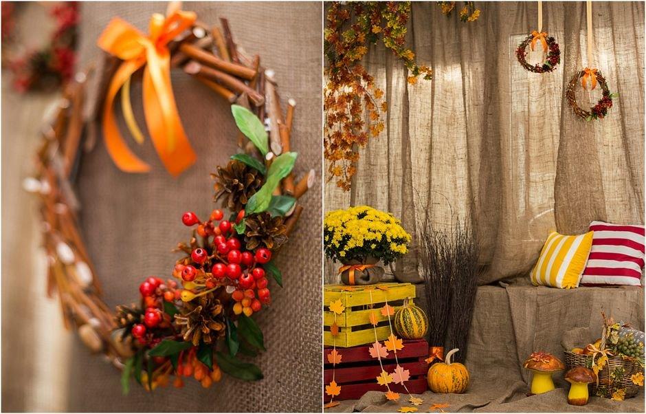Фото декорации в спб осенние