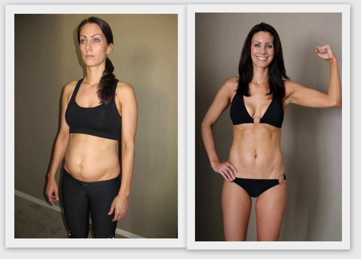 Фото до и после планки похудеть