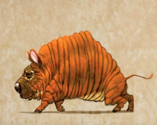 Рисунок необычные животные, открытки мужчине днем