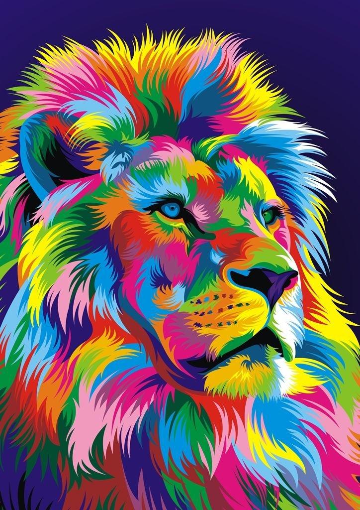 Разноцветные животные картинки на аву